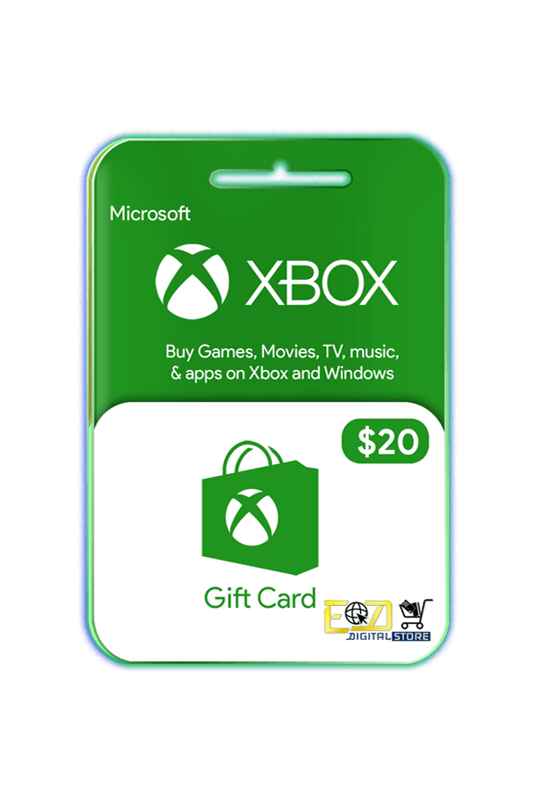buy $20 Microsoft Xbox gift card email delivery Nepal