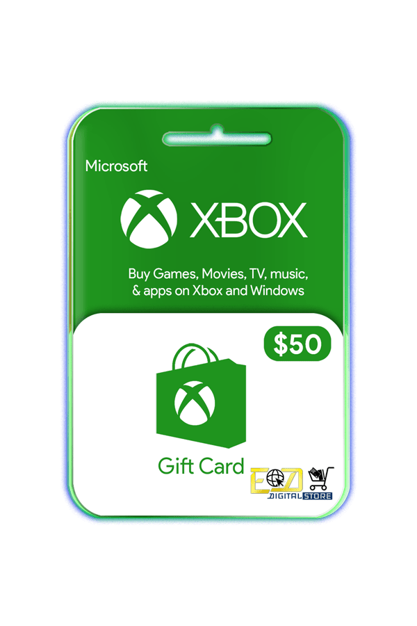 buy $50 Xbox gift card email delivery Nepal