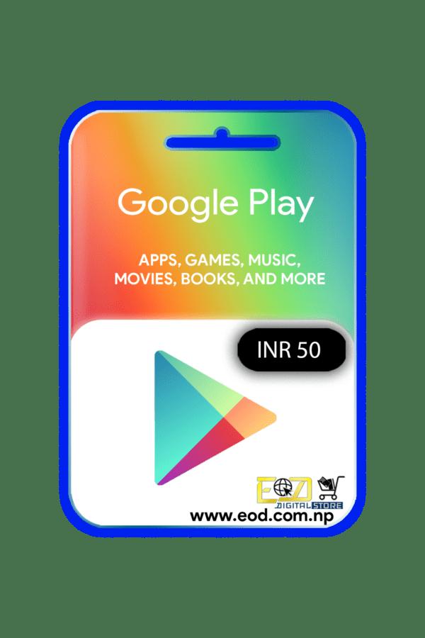 Google play INR